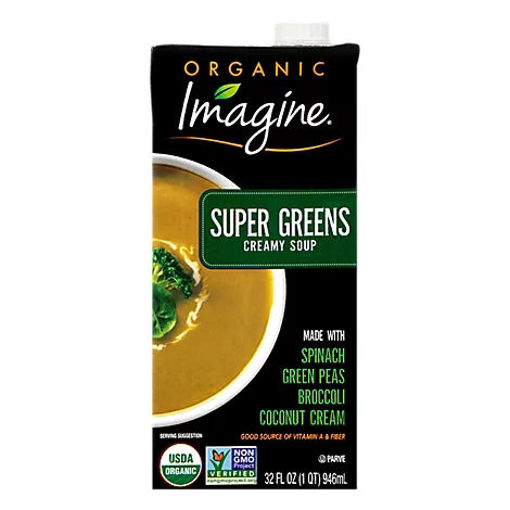 Picture of Imagine Organic Soup Creamy Super Greens - 32 Fl. Oz.