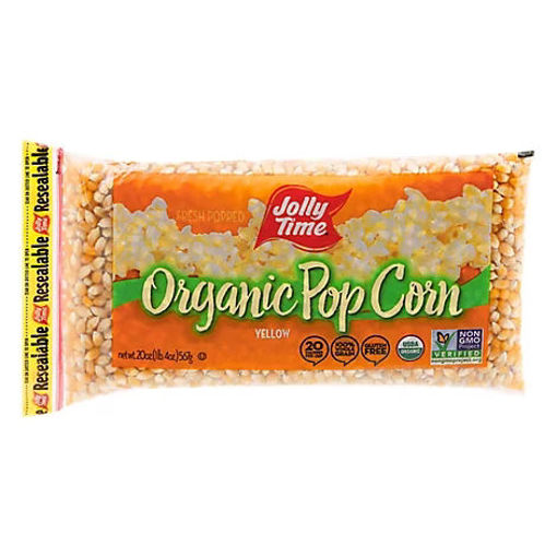 Picture of Jolly Time Popcorn Yellow Organic - 20 Oz