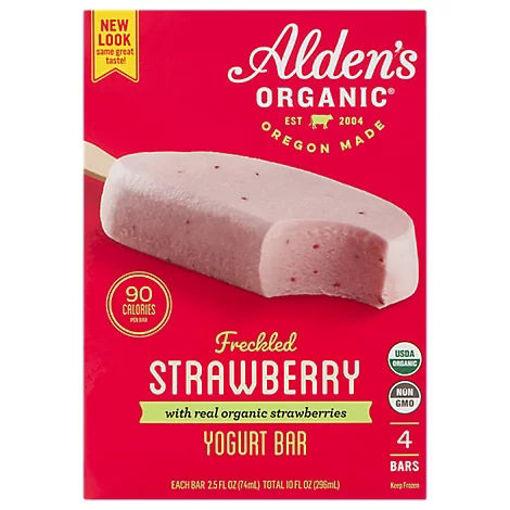 Picture of Julies Organics Strawberry Yogurt Bars - 4-2.5 Fl. Oz.