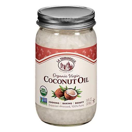Picture of La Tourangelle Organic Coconut Oil Virgin - 14 Fl. Oz.