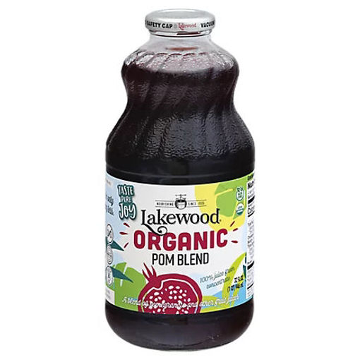Picture of Lakewood Organic 100% Juice Pomegranate - 32 Fl. Oz.