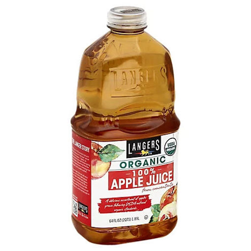 Picture of Langers Juice Organic Apple - 64 Fl. Oz.