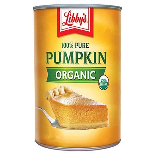 Picture of Libbys Pumpkin Organic 100% Pure - 15 Oz