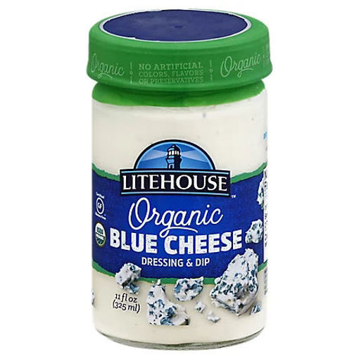 Picture of Litehouse Organic Dressing & Dip Blue Cheese - 11 Oz