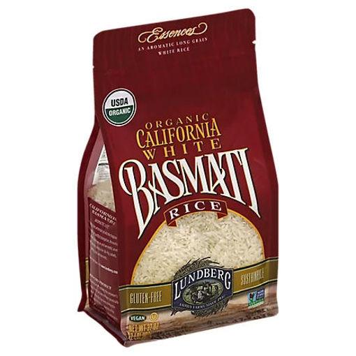 Picture of Lundberg Essences Organic California Rice White Basmati - 32 Oz