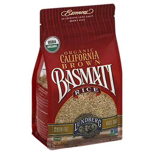 Picture of Lundberg Essences Organic California Rice Brown Basmati - 32 Oz