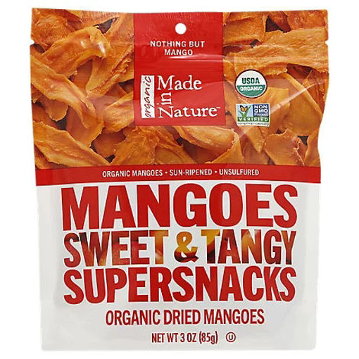 Picture of Made In Nature Organic Dried Mangoes - 3 Oz.