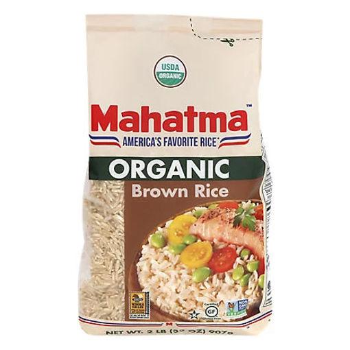 Picture of Mahatma Organic Brown Rice - 32 Oz