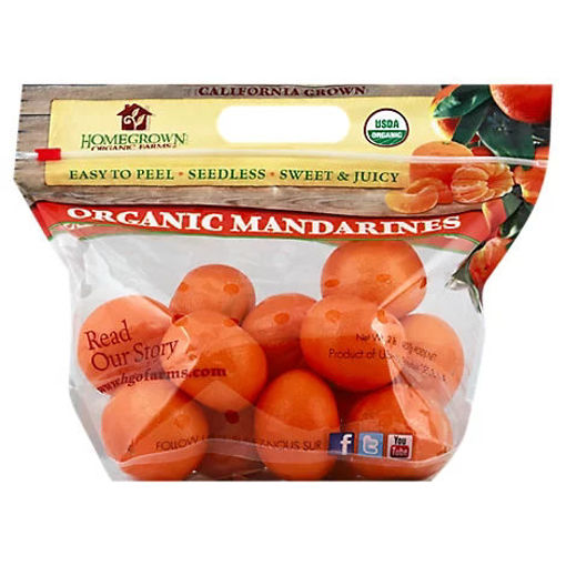Picture of Mandarin/Clemintine 2lb Bag Organic - 2 Lb