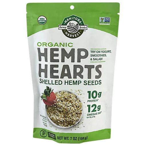 Picture of Manitoba Harvest Hemp Hearts Organic - 7 Oz