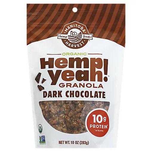 Picture of Manitoba Harvest Hemp Yeah! Granola Organic Dark Chocolate - 10 Oz