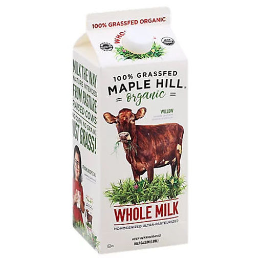 Picture of Maple Hill Whole Milk Grassfed Organic - 64 Oz