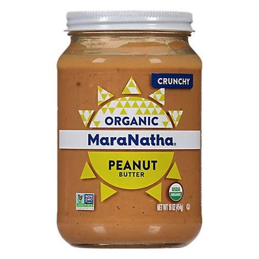 Picture of MaraNatha Peanut Butter Crunchy Organic - 16 Oz