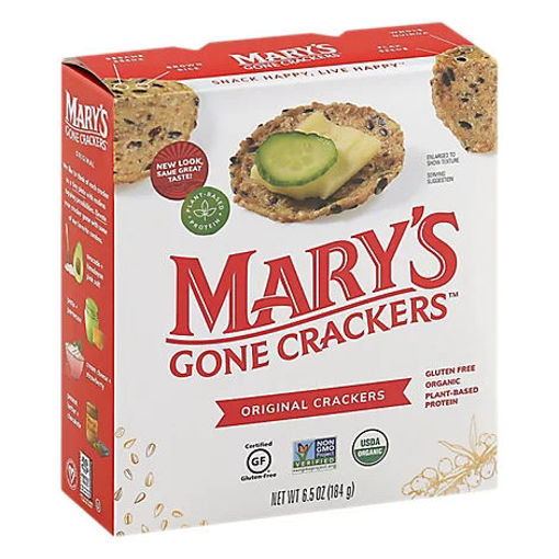 Picture of Marys Gone Crackers Organic Original Crackers - 6.5 Oz