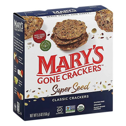 Picture of Marys Gone Crackers Super Seed Organic Classic  - 5.5 Oz