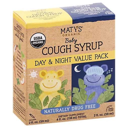 Picture of Matys Organic Baby Cough Syrup Value Pack - 4 FZ