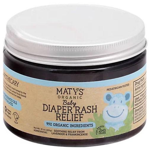 Picture of Matys Organic Baby Diaper Rash Relief - 10 OZ