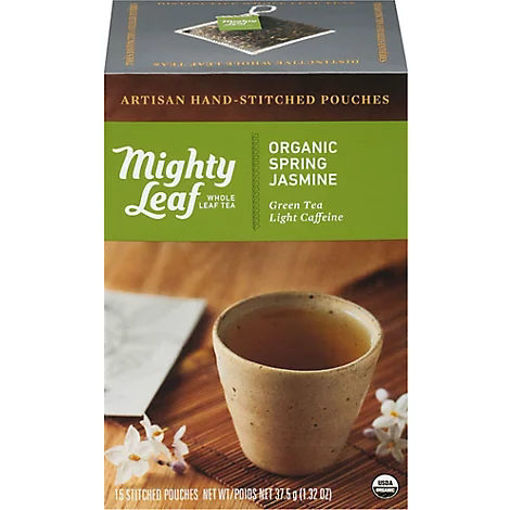 Picture of Mighty Leaf Organic Spring Jasmine Tea - 15 Count
