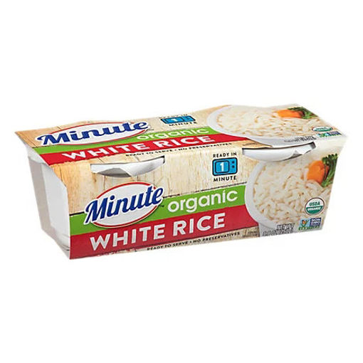 Picture of Minute Ready To Serve White Rice Organic - 2-4.4 Oz