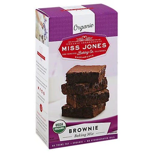 Picture of Miss Jones Baking Co Organic Baking Mix Brownie - 14.67 Oz