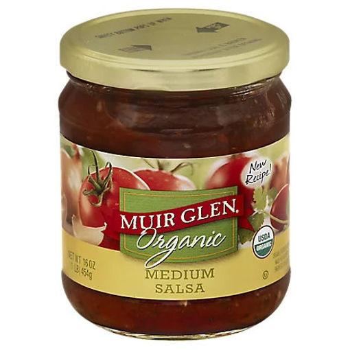 Picture of Muir Glen Organic Salsa Medium Jar - 16 Oz