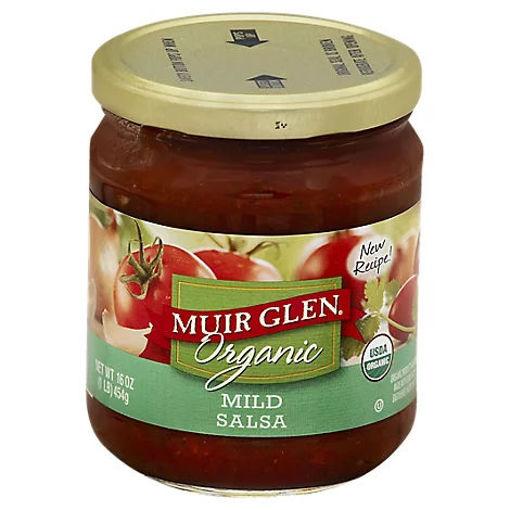 Picture of Muir Glen Organic Salsa Mild Jar - 16 Oz