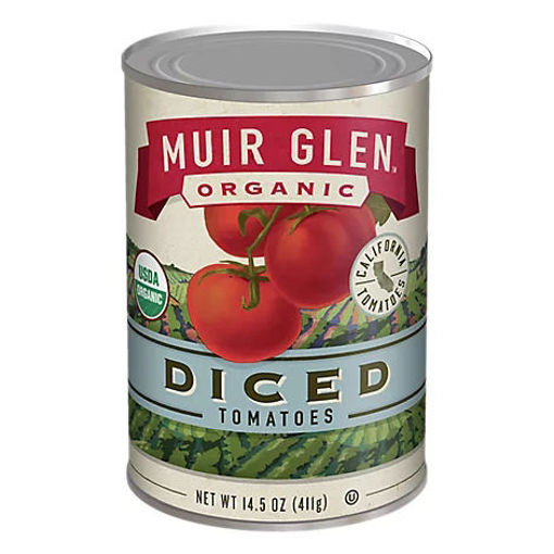 Picture of Muir Glen Tomatoes Organic Diced - 14.5 Oz