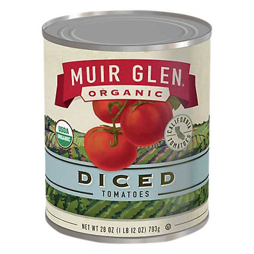 Picture of Muir Glen Tomatoes Organic Diced - 28 Oz