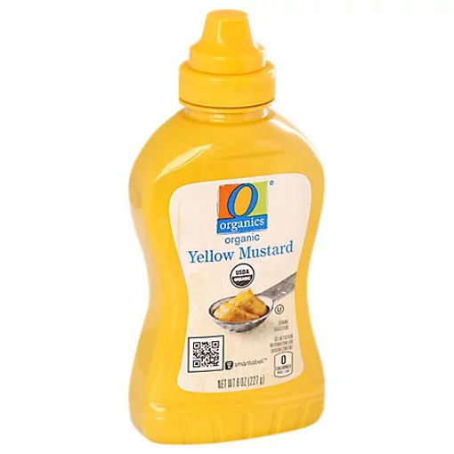 Picture of Mustard Organic Yellow - 8 Oz