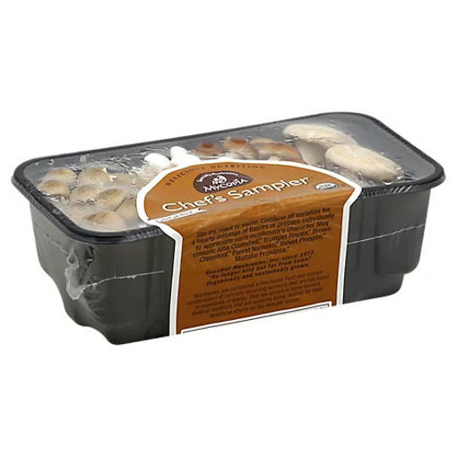 Picture of Mycopia Mushrooms Organic Mycopia Chef Sampler Prepacked - 8 Oz