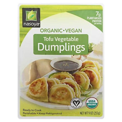 Picture of Nasoya Dumplings Organic Tofu Vegetable - 9 Oz