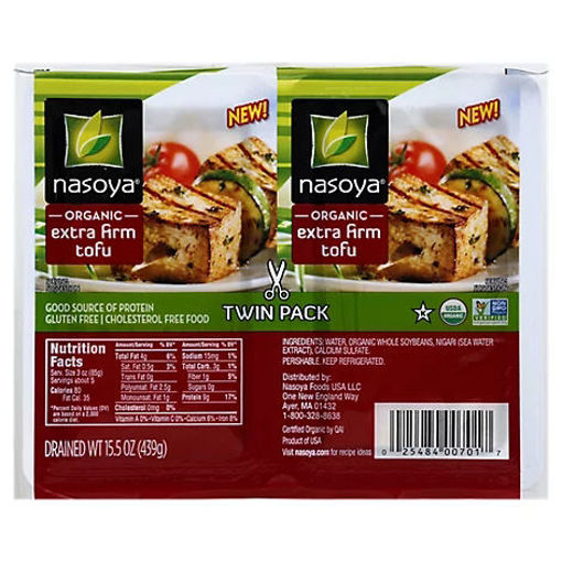 Picture of Nasoya Organic Tofu Extra Firm Twin Pack - 15.5 Oz