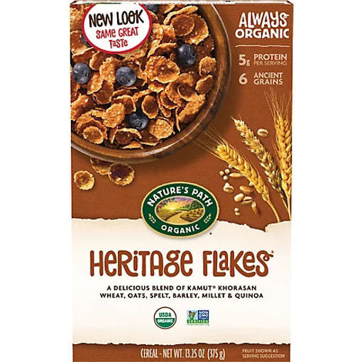Picture of Natures Path Organic Cereal Heritage Flakes - 13.25 Oz