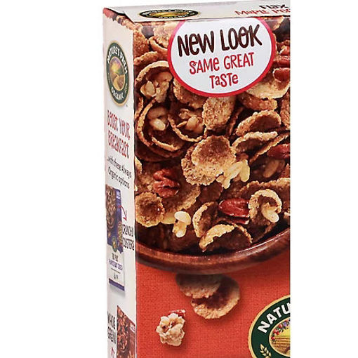 Picture of Natures Path Organic Flax Plus Cereal Maple Pecan Crunch - 11.5 Oz