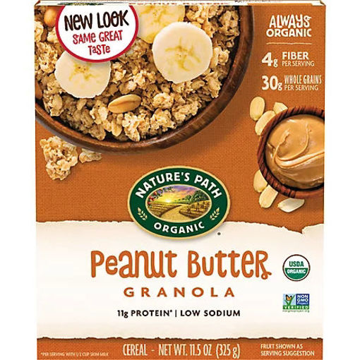 Picture of Natures Path Organic Granola Peanut Butter - 11.5 Oz