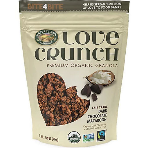Picture of Natures Path Organic Love Crunch Granola Dark Chocolate Macaroon - 11.5 Oz
