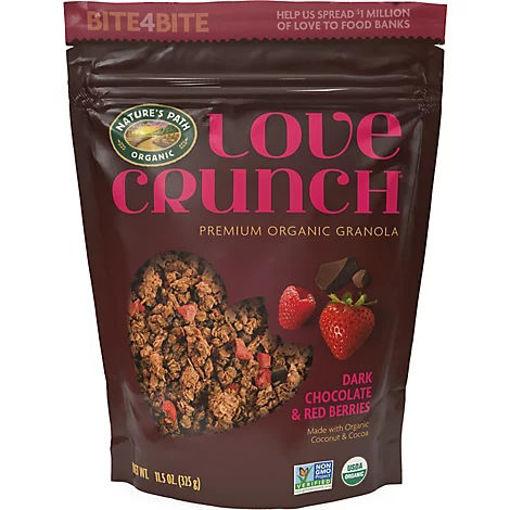 Picture of Natures Path Organic Love Crunch Granola Dark Chocolate & Red Berries - 11.5 Oz