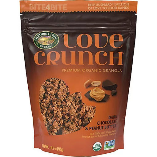 Picture of Natures Path Organic Love Crunch Granola Dark Chocolate & Peanut Butter - 11.5 Oz