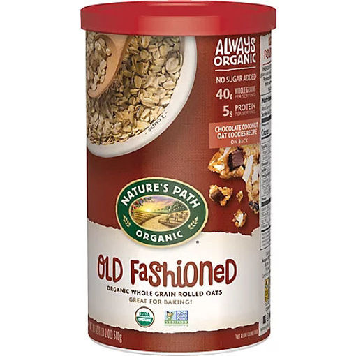 Picture of Natures Path Organic Oats Old Fashioned - 18 Oz