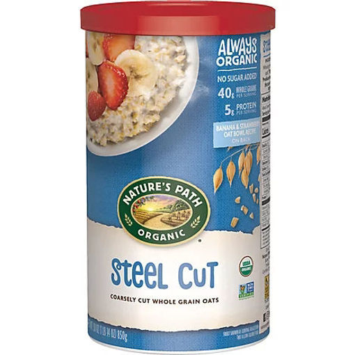 Picture of Natures Path Organic Oats Steel Cut - 30 Oz