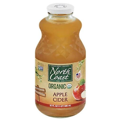 Picture of North Coast Juice Organic Apple Cider - 32 Fl. Oz.
