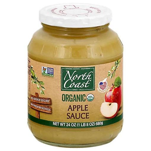 Picture of North Coast Organic Apple Sauce - 24 Oz