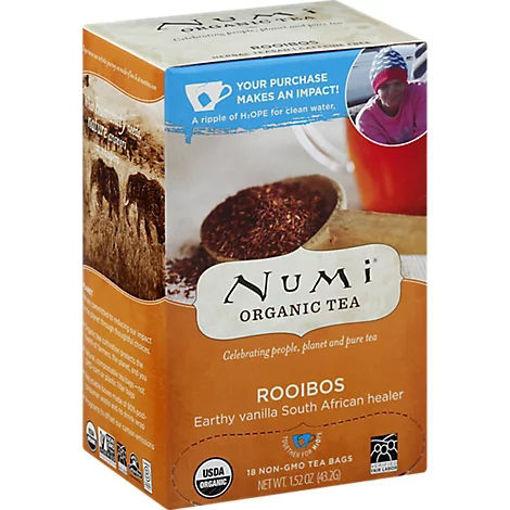 Picture of Numi Organic Tea Rooibos 18 Count - 1.52 Oz