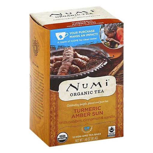 Picture of Numi Organic Tea Turmeric Amber Sun - 1.46 Oz