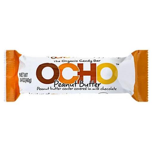Picture of OCHO Organic Candy Bar Peanut Butter - 1.4 Oz