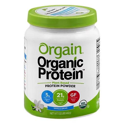 Picture of Orgain Organic Protein Plant Based Powder Vanilla Bean - 1.02 Lb