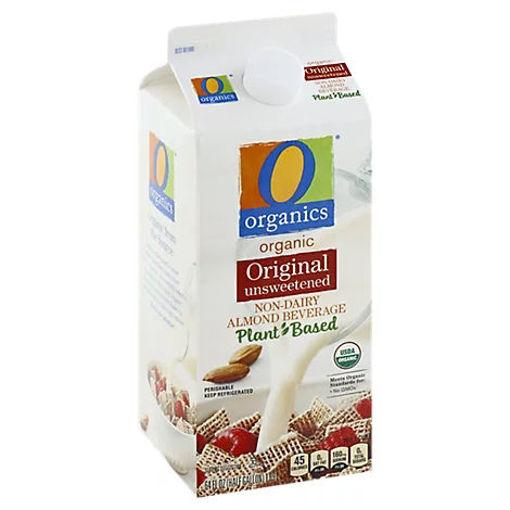 Picture of Organic Almondmilk Unsweetened Plain - Half Gallon