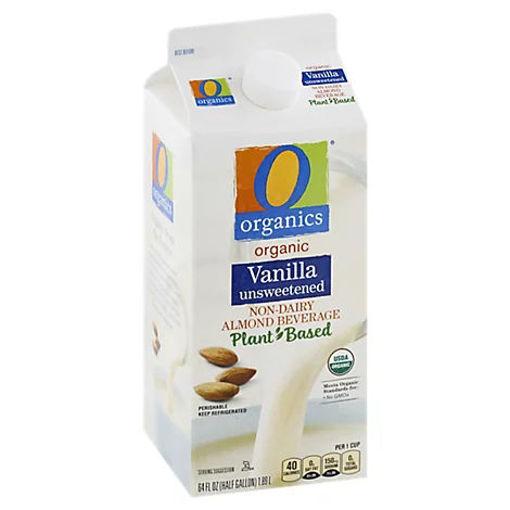 Picture of Organic Almondmilk Unsweetened Vanilla -Half Gallon