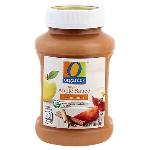 Picture of Organic Apple Sauce Cinnamon - 24 Oz