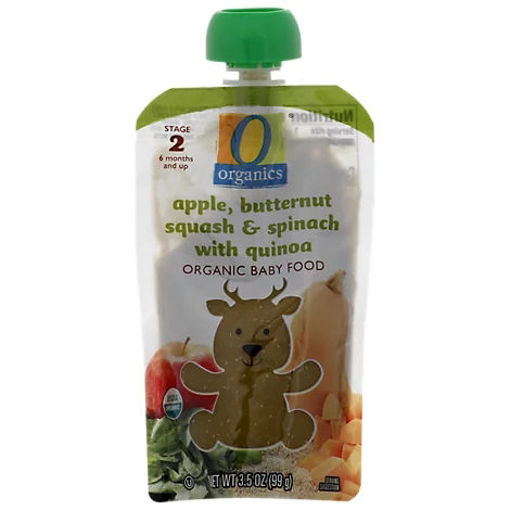 Picture of Organic Baby Food Stage 2 Apple Butternut Squash & Spinach With Quinoa - 3.5 Oz